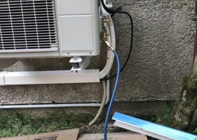Pose d'une climatisions réversible à Villeneuve saint germain 02200