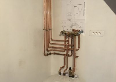 Plomberie Installation chaudière en cuivre - AEP Soissons 02200