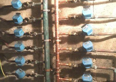 Plomberie Réfection nourisse distribution eau potable - AEP Soissons